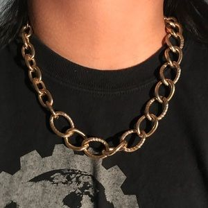 Jewelry - Big Bulky Gold Chain